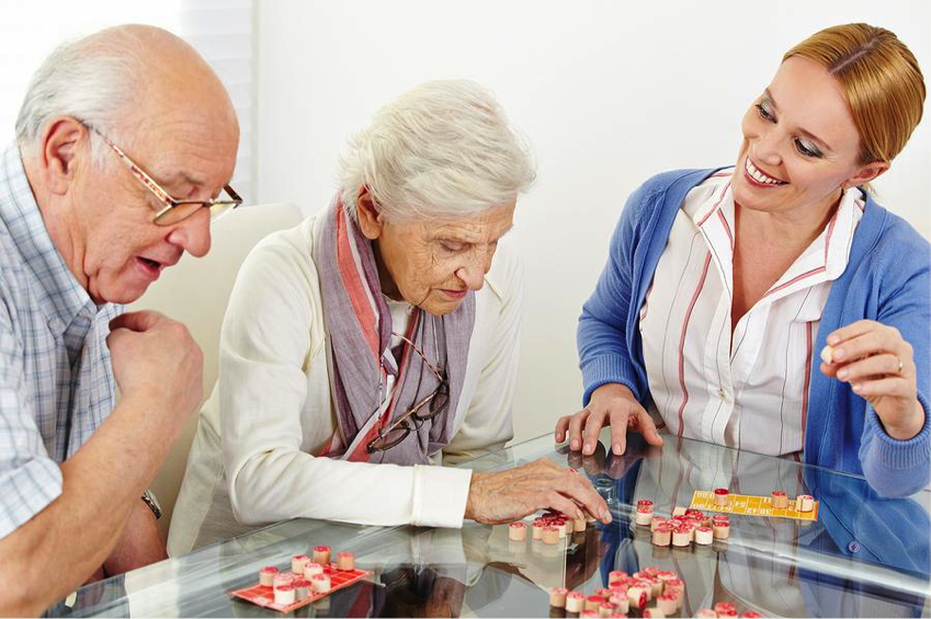 Why the elderly needs a social community and friends